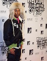 København, 20061102. MTV Europe Music Awards. Red Carpet. Pharell.