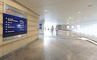 City-Tunnel / der neu entstandene Fußgängertunnel am Hauptbahnhof wird eingeweiht / Inbetriebnahme / Zugang zum Citytunnel / Promenaden Hauptbahnhof / LVB Straßenbahn Haltestellen / der alte Tunnel wird zurück gebaut.<br /> Foto: aif / Anika Dollmeyer