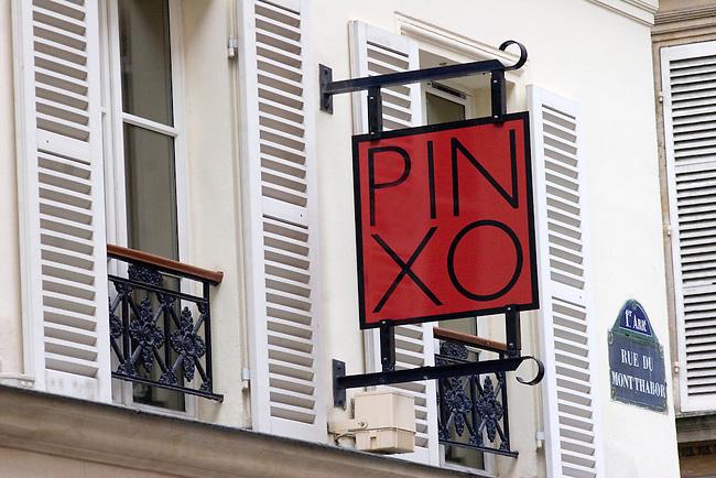 Exterior, Pinxo Restaurant, Paris, France, Europe