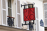 Exterior, Pinxo Restaurant, Paris, France, Europe