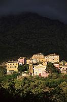Europe/France/Corse/2B/Haute-Corse/Cap Corse/Ogliastro: La village