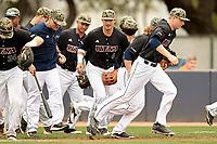 SAN ANTONIO, TX - APRIL 9, 2017: The University of Texas at San Antonio Roadrunners defeat the Western Kentucky University Hilltoppers 7-1 at Roadrunner Field. (Photo by Jeff Huehn)