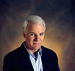 Steve Martin portrait for cover of Written By Magazine.