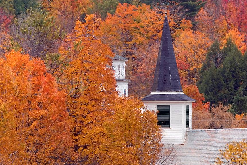Waterville, Vermont. USA