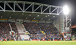 Rangers fans at Tynecastle