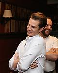 Andrew Garfield attends the Sardi's portrait unveiling for Andrew Garfield at Sardi's on May 31, 2018 in New York City.