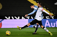 Fabio Depaoli of Atalanta BC and Claudio Terzi of Spezia Calcio during the Serie A football match between Spezia Calcio and Atalanta BC at Dino Manuzzi stadium in Cesena (Italy), November 20th, 2020. Photo Andrea Staccioli / Insidefoto