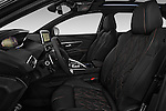Front seat view of 2017 Peugeot 3008 GT-Line 5 Door Suv Front Seat  car photos