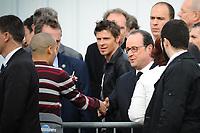 Visite du PrÈsident de la RÈpublique FranÁois Hollande dans la commune de Vaulx-en-velin sur le thËme de la politique de la ville.