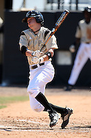March 7, 2010:  Shortstop Mike Holmes of the Central Florida Knights during game at Jay Bergman Field in Orlando, FL.  Central Florida lost to Central Michigan by the score of 7-4.  Photo By Mike Janes/Four Seam Images