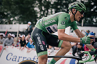 Marcel Kittel (DEU/QuickStep Floors) grabbing a last bidon up the Mur de Péguère (Cat1/1375m/9.3km/7.9%)<br /> <br /> 104th Tour de France 2017<br /> Stage 13 - Saint-Girons › Foix (100km)