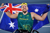 Dylan Alcott  (AUS) GOLD mens singles<br /> Ariake Tennis Park / Wheelchair Tennis <br /> 2020 Tokyo Paralympic Games<br /> Paralympics Australia / Day 11<br /> Tokyo Japan :  Thursday 4 Sept  2021<br /> © Sport the library / Jeff Crow / PA