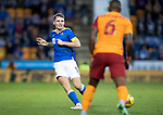 St Johnstone v Galatasaray…12.08.21  McDiarmid Park Europa League Qualifier<br />Jason Kerr<br />Picture by Graeme Hart.<br />Copyright Perthshire Picture Agency<br />Tel: 01738 623350  Mobile: 07990 594431