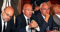 Eric Ciotti - Reunion avec les acteurs economiques de la ville de Nice et de la rÈgion PACA apres l'attentat de Nice.