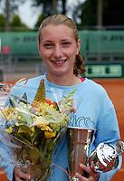 13-8-06,Den Haag, Tennis Nationale Jeugdkampioenschappen, winnaae meisjes 18 jaar, Marrit Boonstra
