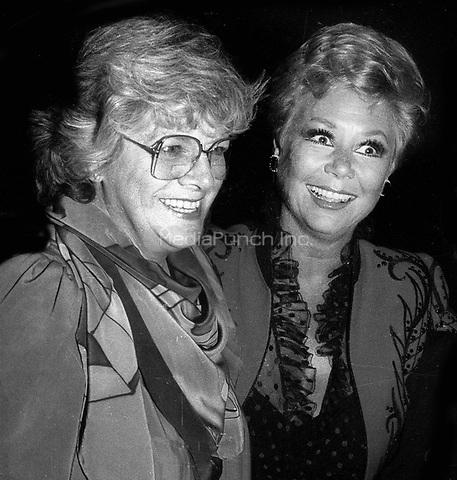 Rosemary Clooney Mitzi Gaynor 1978<br /> Photo By John Barrett/PHOTOlink.net /MediaPunch