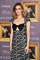 """Honor Swinton-Byrne<br /> arriving for the UK gala screening of  """"The Souvenir"""" at the Curzon Mayfair, London<br /> <br /> ©Ash Knotek  D3516 27/08/2019"""