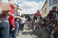 Tim Wellens (BEL/Lotto-Belisol) up the Côte de Saint-Roche<br /> <br /> Liège-Bastogne-Liège 2014