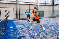 Netherlands, December 10,  2020, Etten-Leur, Zuit, Padel Photoshoot<br /> Photo: Henk Koster/tennisimages.com