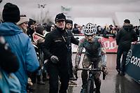 Eli Iserbyt (BEL/Marlux-Bingoal) after finishing 4th<br /> <br /> Elite Men's Race<br /> Belgian National CX Championschips<br /> Kruibeke 2019