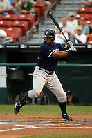June 28th 2008: Juan Miranda of the Scranton Wilkes-Barre Yankees, Class-AAA affiliate of the New York Yankees, during a game at Dunn Tire Park in Buffalo, NY.  Photo by:  Mike Janes/Four Seam Images