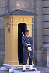 Europe, SWE, Sweden, Stockholm, Royal Guard in front of the Royal Palace