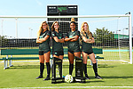 DENTON, TX - AUGUST 6: Mean Green Soccer media day at the Soccer Complex in Denton on June 19, 2018 in Denton, Texas.
