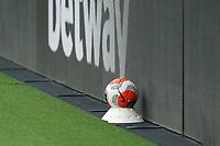 A match ball during Tottenham Hotspur vs Everton, Premier League Football at Tottenham Hotspur Stadium on 6th July 2020