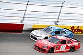 #18: Denny Hamlin, Joe Gibbs Racing, Toyota Supra SportClips #7: Justin Allgaier, JR Motorsports, Chevrolet Camaro ARMOUR Vienna Sausage