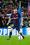 Sergi Roberto Carnicer of FC Barcelona in action during the UEFA Champions League 2017-18 Round of 16 (2nd leg) match between FC Barcelona and Chelsea FC at Camp Nou on 14 March 2018 in Barcelona, Spain. Photo by Vicens Gimenez / Power Sport Images