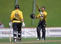 200205 Ford Trophy Cricket - Wellington Firebirds v Central Stags