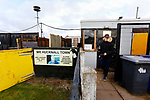 The entrance for fans, and players at Watnall Road. Hucknall Town v Heanor Town, 17th October 2020, at the Watnall Road Ground, East Midlands Counties League. Photo by Paul Thompson.