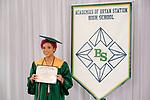 Bean Herrera, Tozcha  received their diploma at Bryan Station High school on  Thursday June 4, 2020  in Lexington, Ky. Photo by Mark Mahan Mahan Multimedia