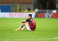 Milano 01-05 2021<br /> Stadio Giuseppe Meazza<br /> Serie A  Tim 2020/21<br /> Milan - Benevento<br /> Nella foto: Zlatan Ibraimovic                                     <br /> Antonio Saia Kines Milano
