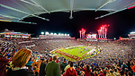 The view from the new Champions Club at Doak S. Campbell stadium before an NCAA college football game between Florida State and Florida in Tallahassee, Fla., Saturday, Nov. 26, 2016.  Florida State defeated Florida 31-13.