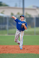 Mackenzie Mitchell (53) during the WWBA World Championship at Lee County Player Development Complex on October 11, 2020 in Fort Myers, Florida.  Mackenzie Mitchell, a resident of Toronto, Ontario, Canada who attends St. Michael's College School.  (Mike Janes/Four Seam Images)
