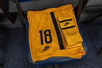 EAST HARTFORD, CT - JULY 5: Nike uniforms sit in the locker room during a game between Mexico and USWNT at Rentschler Field on July 5, 2021 in East Hartford, Connecticut.
