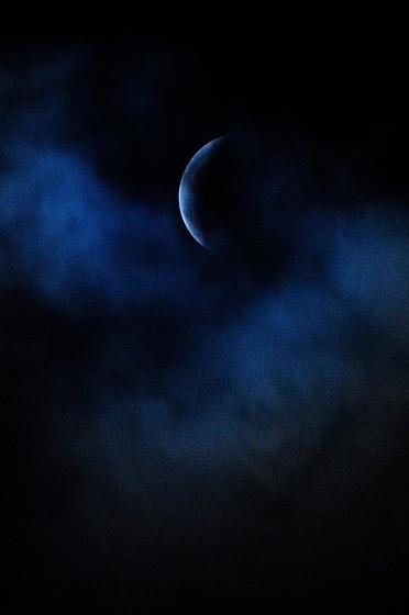 Superluna de sangre de lobo / eclipse de luna, 21 de enero de 2019.<br /> <br /> Edición de 10 + 1 P/A | Víctor Santamaría.