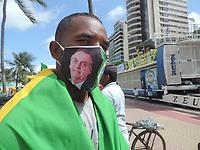 01/08/2021 - PROTESTO EM APOIO A JAIR BOLSONARO EM RECIFE