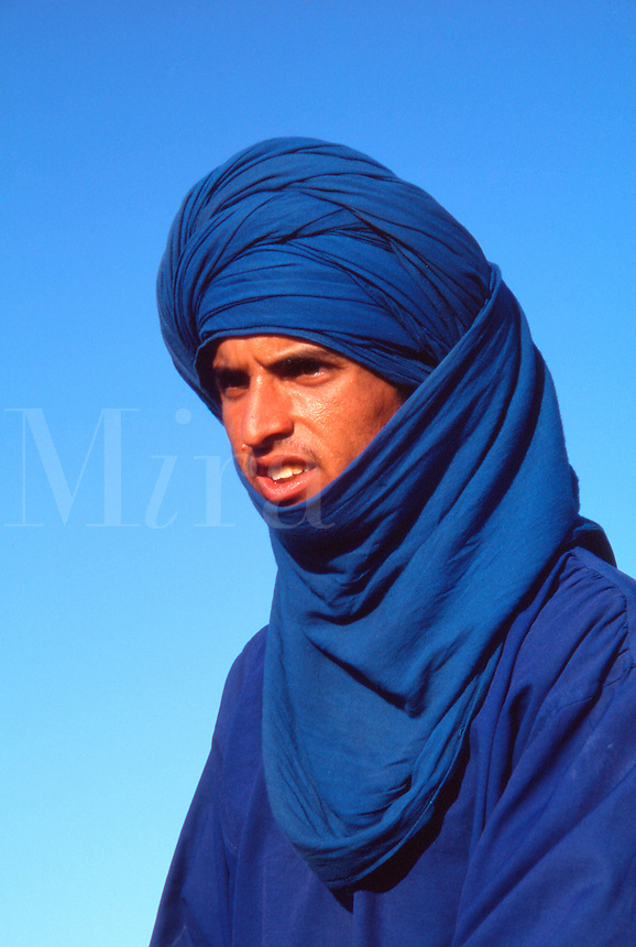 Portrait of a man from Tunisia