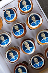 The city of Perth shows it's support for St Johnstone ahead of Saturdays Scottish Cup Final against Hibs at Hampden... 21.05.21<br />A set of special edition St Johnstone cupcakes ahead of saturday's Scottish Cup Final against Hibs.<br />Picture by Graeme Hart.<br />Copyright Perthshire Picture Agency<br />Tel: 01738 623350  Mobile: 07990 594431