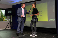 Pictured: during the Swans Community Trust awards dinner at the liberty stadium in Swansea, Wales, UK <br /> Thursday 02 April 2019