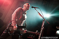 Live concert photo of Alkaline Trio @ Metro Chicago by http://www.justingillphoto.com