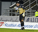 26/12/2009  Copyright  Pic : James Stewart.sct_jspa18_falkirk_v_hearts  .:: MARIAN KELLO GETS BOOKED FOR TIME WASTING :: .James Stewart Photography 19 Carronlea Drive, Falkirk. FK2 8DN      Vat Reg No. 607 6932 25.Telephone      : +44 (0)1324 570291 .Mobile              : +44 (0)7721 416997.E-mail  :  jim@jspa.co.uk.If you require further information then contact Jim Stewart on any of the numbers above.........