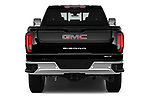 Straight rear view of 2020 GMC Sierra-2500-HD SLT 4 Door Pick-up Rear View  stock images