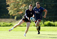 Tuesday 5th October 2021<br /> <br /> Nathan Doak during Ulster Rugby training at Newforge Country Club, Belfast, Northern Ireland. Photo by John Dickson/Dicksondigital