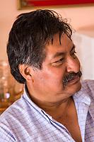 Matatlan, Oaxaca; Mexico; North America. A Middle-aged Zapotec Indian.