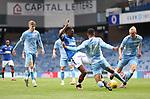 25.07.2020 Rangers v Coventry City: Joe Aribo scores for Rangers