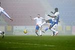 St Johnstone v Kilmarnock…06.11.20   McDiarmid Park SPFL<br />Danny McNamara scores for saints<br />Picture by Graeme Hart.<br />Copyright Perthshire Picture Agency<br />Tel: 01738 623350  Mobile: 07990 594431