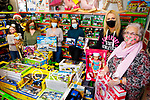 The staff of Toys Upstairs at Kellihers launch theirSt Vincent de Paul Christmas Toys Appeal in the shop on Monday.  Front right: Marion Moore (St Vincent de Paul) and Sharon Teahan (Manager, Toys Upstairs Kellihers).<br /> Back l to r: Caragh Kelliher, Treasa Walsh (St Vincent de Paul), Ruairi Fry (St Vincent de Paul), Patricia Fitzgerald and Karla Griffin.